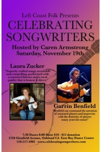 November 2011 Garrin Benfield  Laura Zucker