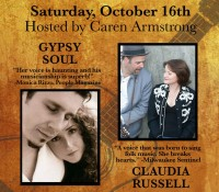 October 2010  First show at EBDC  Claudia Russell and Gypsy Soul