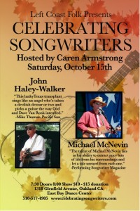October 2011  John Haley-Walker Michael McNevin